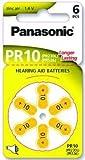 Panasonic PR10 Caisson à piles auditives (10 Pochettes de 60 piles)