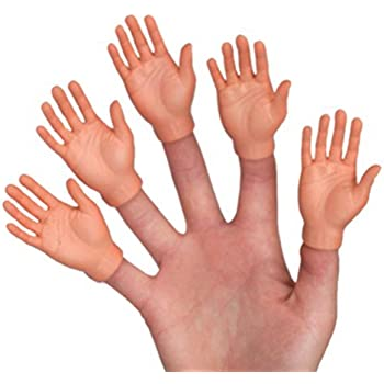 amazon   set of ten finger hands finger puppets toys