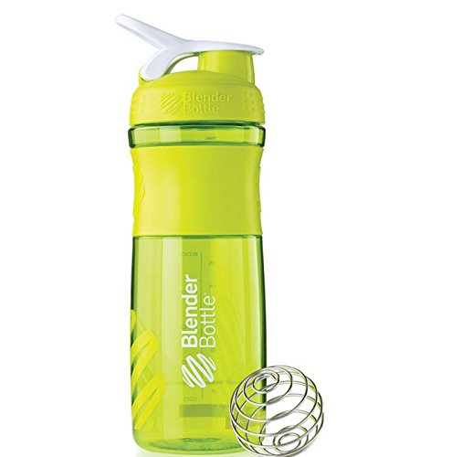 Blender Bottle Sport Mixer Protein Shaker Cup 28 oz BlenderBottle Sport - Green/White (Blender Bottle Sport Mixer Aqua compare prices)