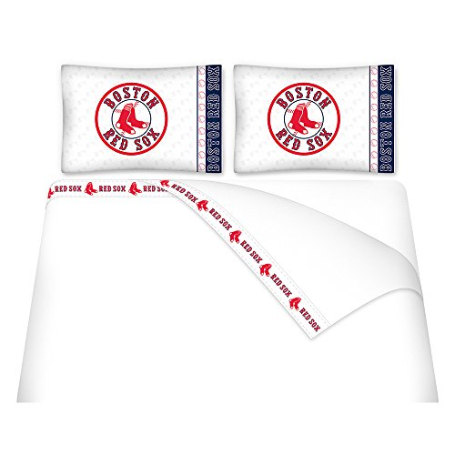 (MLB Boston Red Sox Micro Fiber Sheet Set (Full))