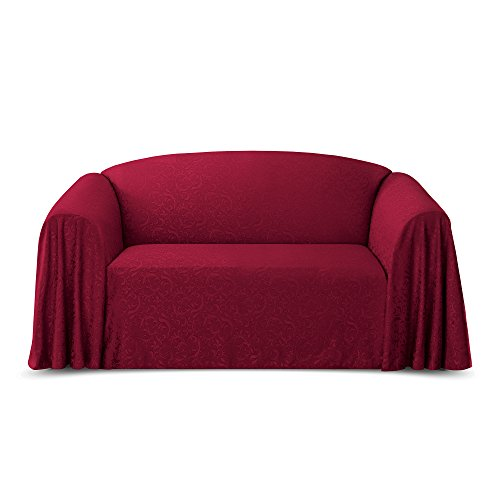 Jacquard Furniture Throw, Spice Sofa (Furniture Throw)