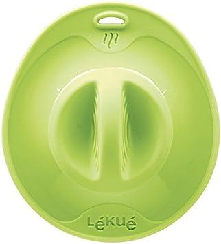 Amazon.com: Lékué Tapa de succión, verde, 8.3 inch: Home ...