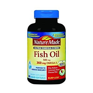 Nature Made Burp Less Fish Oil 360 Mg Omega 3