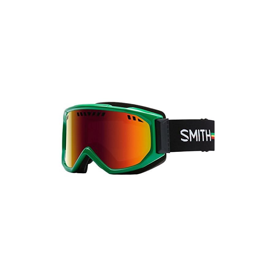 Smith Optics Scope Adult Airflow Series Snocross Snowmobile Goggles Eyewear Irie / Red Sol X Mirror / Medium