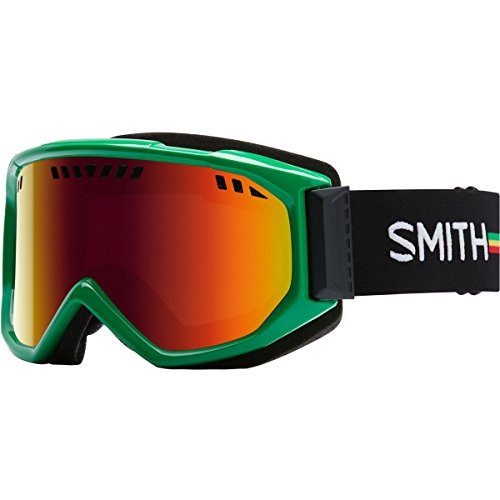 Smith Optics Scope Adult Airflow Series Snocross Snowmobile Goggles Eyewear Irie / Red Sol X Mirror / Medium