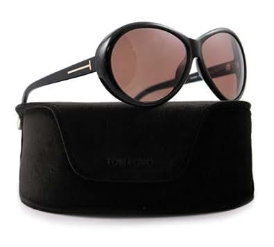 Tom Ford TF 202 Geraldine 01J Black Sunglasses