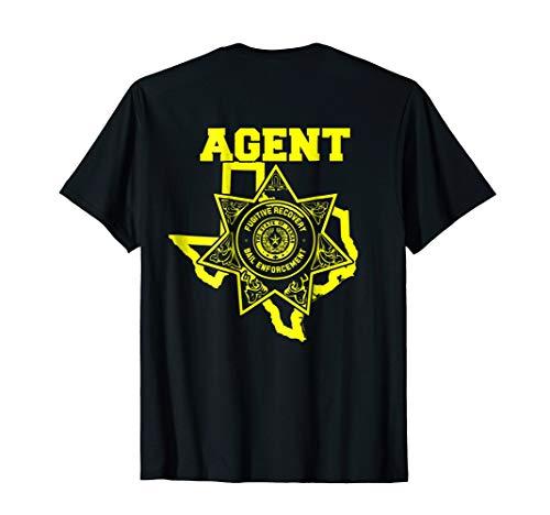 Texas Bail Enforcement Agent Bounty Hunter T-Shirt