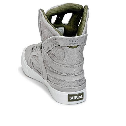 uomo S01031 Skytop Light Sneaker 2 Supra Grey Z7I6wqWzn