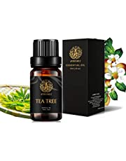Aromatherapy Essential Oils, Tea Tree Aromatherapy Essential Oils (0.33 oz - 10ml), 100% Pure Essential Oils Tea Tree Scent for Diffuser, Humidifier, Massage, Aromatherapy, Skin & Hair Care