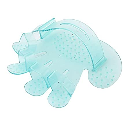 eDealMax Perro de mascota goma gato perrito de baño de la preparación del guante del masaje