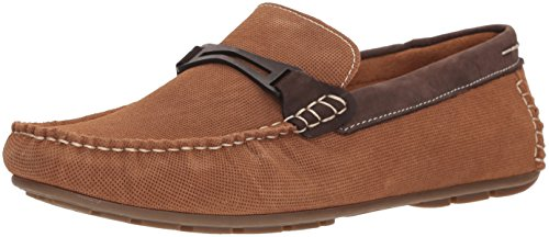 Steve Madden Mens Garland Loafer Dark Tan