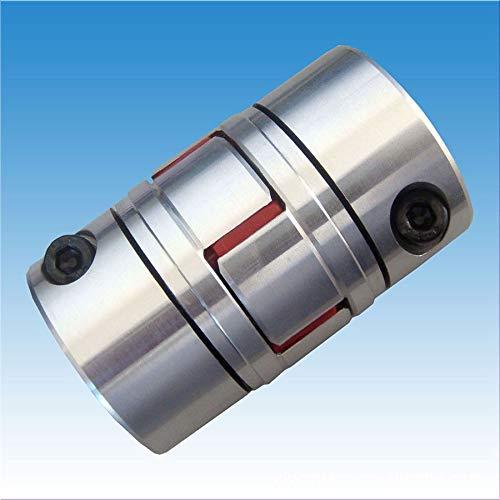 Fevas 1PCS YT1446 Aluminum Alloy Elastic Coupling Servo Motor Motor Coupling Shaft Coupling Plum Coupling BF d1*d2 4066 Bearings