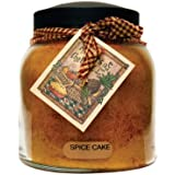 A Cheerful Giver Spice Cake Papa Jar Candle, 34-Ounce
