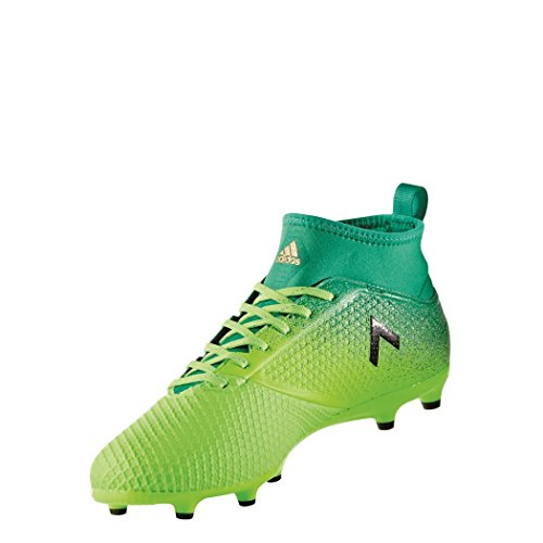 Adidas Herren Ace 17.3 Primemesh Fg für Fußballtrainingsschuhe, Grün (Versol/Negbas/Verbas), 45 1/3 EU