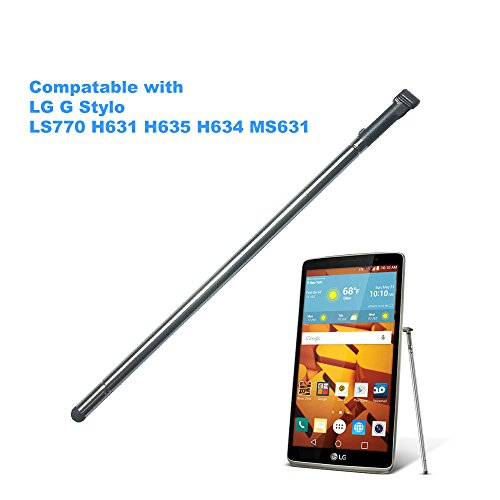 EMiEN Touch Stylus Pen Replacement Part for LG G Stylo (Stylus LS770 H631 H635 H634 MS631) (Gray)