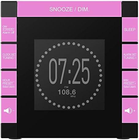 Bigben - Radio Despertador Infantil Unicornios con Proyector y ...