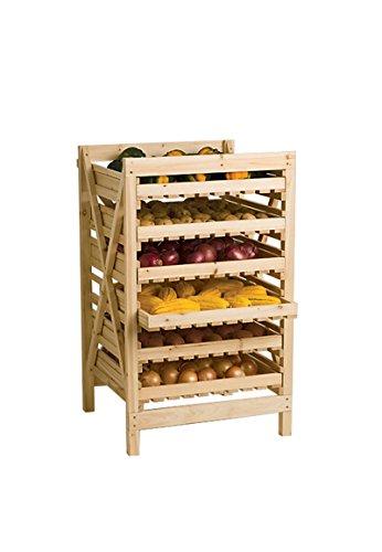 Orchard Rack, Garden Harvest Rack, 6 Drawer by Gardener's Supply Company (Image #4)
