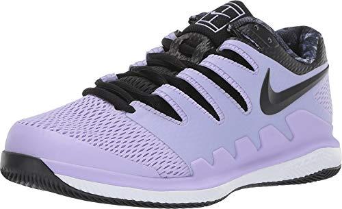 Nike WMNS Air Zoom Vapor X Hc Womens Sneakers AA8027-500, Purple Agate/Black/White/Hyper Crimson, Size US 8.5