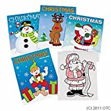 Fun Express Christmas Coloring Books Party Favor - 12 Pieces