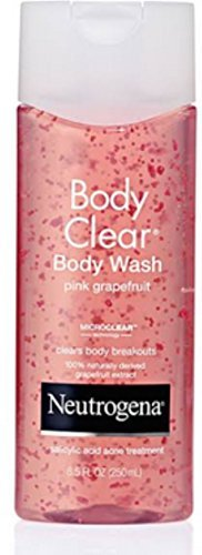 Price comparison product image Neutrogena Body Clear Body Wash, Pink Grapefruit, 8.5 Ounce - Buy Packs and SAVE (Pack of 2)