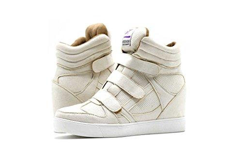 Skokartong Sparkar Mocka Mode Kil Sneakers Vit