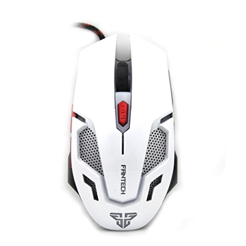GBSELL Adjustable 2400DPI Optical Wired Gaming Game Mice Mouse For Laptop PC