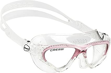 1767fbf01e2d Image Unavailable. Image not available for. Color  Cressi Swim Cobra  Swimming Goggles - Pink ...