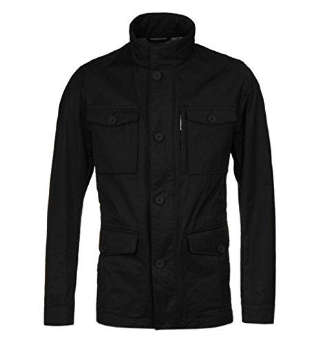 BOSS Calvary Black Lightweight Cotton Jacket