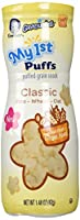 Gerber Graduates My 1st Puffs, Classic Rice/Wheat Oat, 1.48 Ounce (Pack of 6)