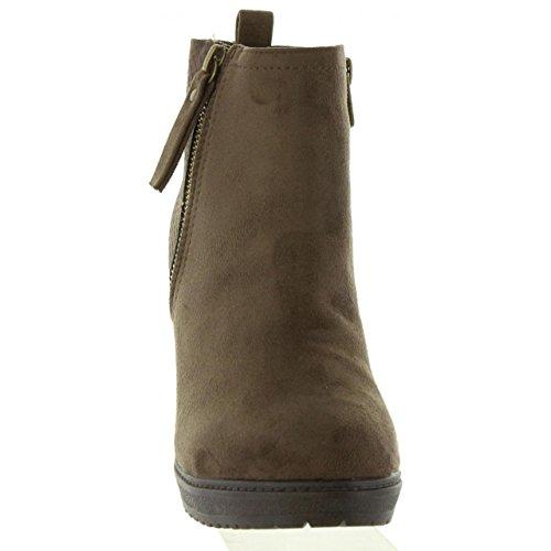 Stiefel für Damen REFRESH 63704 C TAUPE