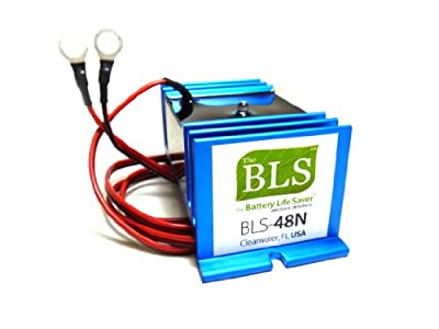 Battery Life Saver BLS-48N 48v Battery System Desulfator Rejuvenator