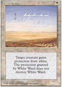 Magic: the Gathering - White Ward - Fourth Edition