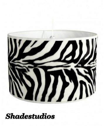 Hand made 10 zebra print lampshade amazon lighting hand made 10quot zebra print lampshade mozeypictures Choice Image