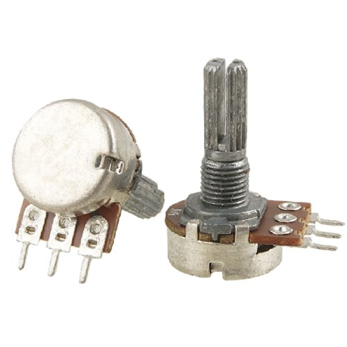 Uxcell a11110700ux0026 2 Piece B1K 1K Ohm Single Linear Taper Rotary Potentiometers