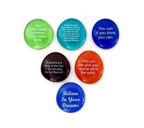 Motivation Stones II, Set of Six