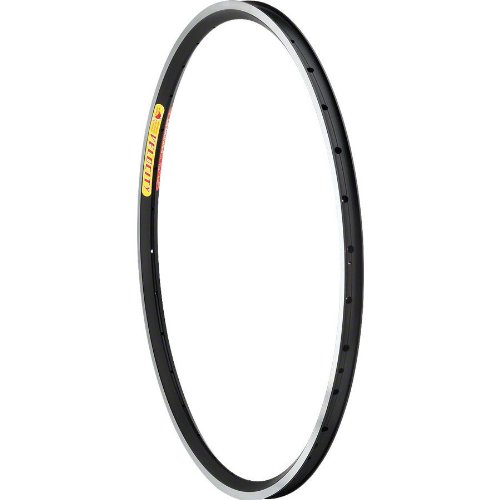 Velocity Aero Heat 26'' 559mm 32 Hole Black Rim with Silver Sides