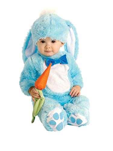 Blue Bunny Infant Costume, 0 - 6 -