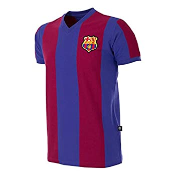 COPA Football - Camiseta Retro FC Barcelona 1976-1977: Amazon.es: Deportes y aire libre