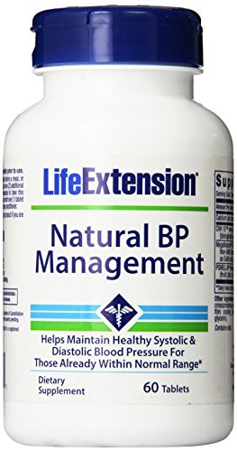 Life Extension Natural BP Management, 60 tablets