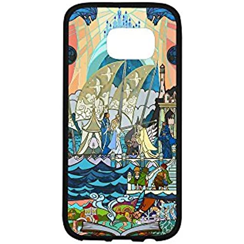 S7 Rubber Case, The Lord Of The Rings Protective Hard TPU Gel Silicone Coated Cover for Samsung Galaxy S7, -A795 Sales