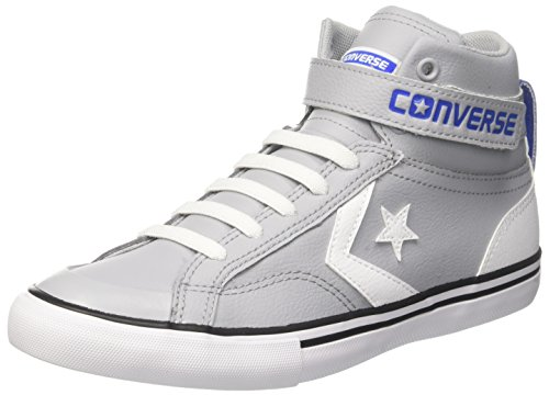 Price comparison product image Converse Kids Pro Blaze Strap Hi Top Shoes (4.5 M US Big Kid)