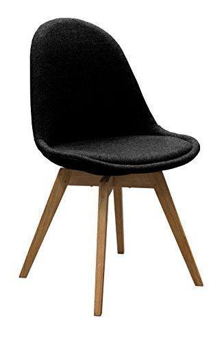 Esszimmerstühle Eiche designbotschaft davos stuhl schwarz eiche esszimmerstühle 1 stck