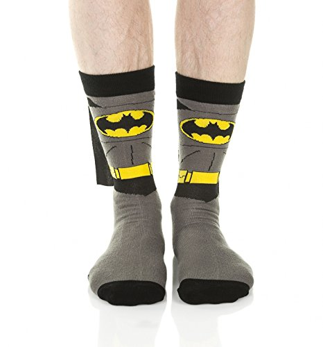 BWI Merchandising Ltd-s Batman Crew Socks With Cape