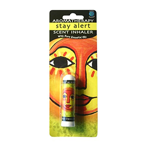 Stay Alert Aromatherapy Scent Inhaler - Stay Awake, Reduce Fatigue, Improve Headache, Boost Energy & Uplift Thought with Aromatherapy Scent Inhaler - 100% Pure, Natural Therapeutic Grade Aromatherapy (Inhaler Stay)
