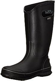 Bogs Hombres sólido de la lluvia de bota, color negro, talla 13 D(M) US