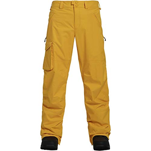 Burton Men's Covert Pant Insulated Snowboarding Pant, Golden Rod, XX-Large