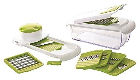 Compra Jocca Multipicadora 7 en 1, Acero Inoxidable, Blanco y Verde, 11.5 cm en Amazon.es
