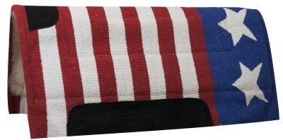 """30"""" X 32"""" USA American Flag Pad with Kodel Fleece Bottom for sale  Delivered anywhere in USA"""