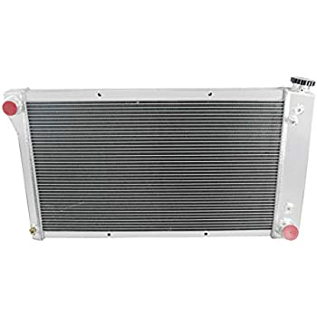 Primecooling 52MM 3 Row Core Aluminum Radiator for 1967-1972 Chevy//GMC C//K 10 20 30 Jimmy Pickup Truck