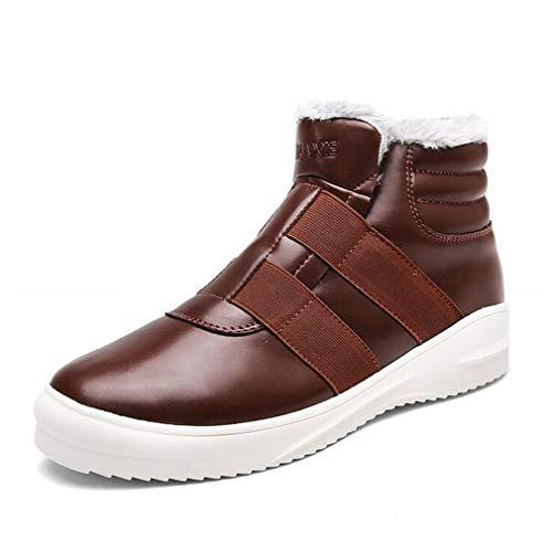 De Zapatillas Nieve Tamaño Con Cordones 43 Botas color Sin Viaje Marrón Cordones Casual Calzado Altas Hombre Invierno Zapatos Hy Martins Azul Para SXfnfY